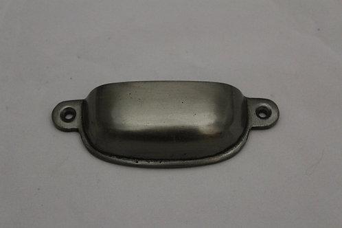 Square chrome pull - E14