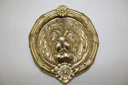 Brass Door Knocker - Large Lion - A9