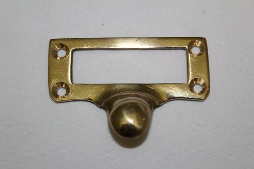 Brass cardholder - E16
