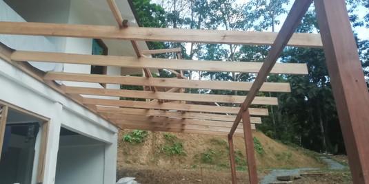 New verandah