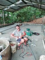 Claudio on electricity work