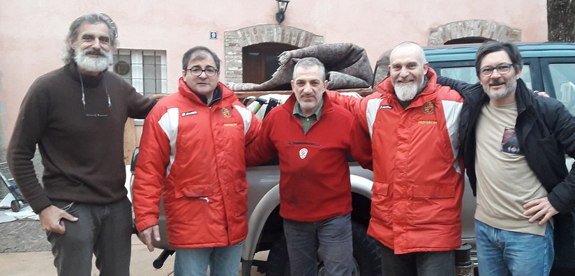 Old`s Rugby Bergamo moving team