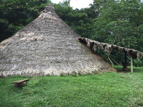 Bribri local indigenous Casa Conica