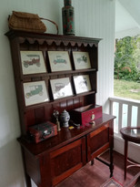 UK 18th Century Oak Dresser with Plate Rack