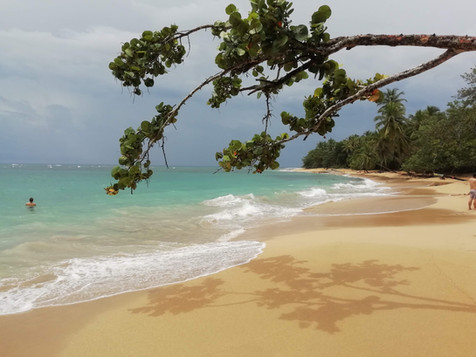 Arrecifes beach after the storm
