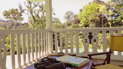 Angulo privado en la terraza