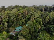 aerial view Colina Secreta