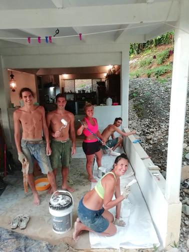 Painters team