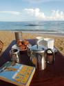 Breakfast at Punta Uva