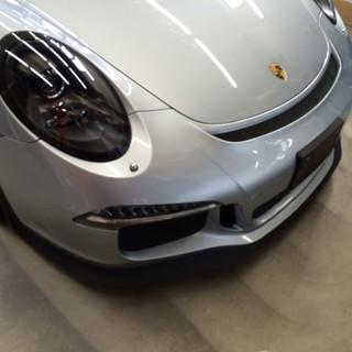 PORSCHE 911 GT3 プロテクションフィルム貼付け パート2(バンパー編)