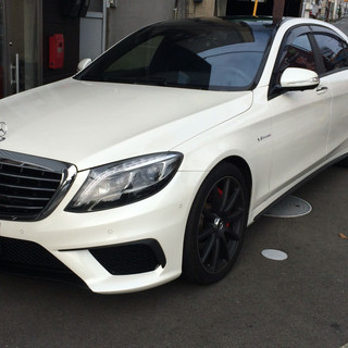 M-BENZ AMG S63 メッキパーツカーボン化