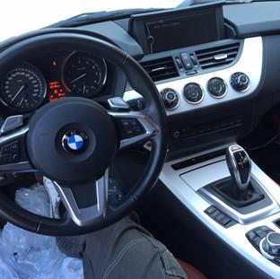 BMW Z4 内装カーボン化