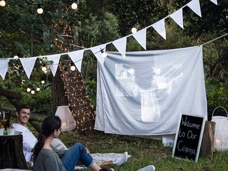 DIY | Cinema a la fresca a casa