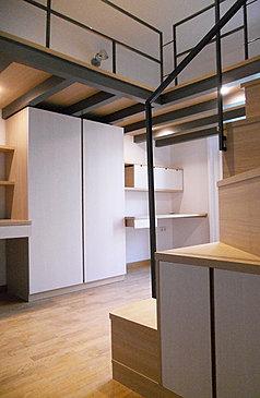 habitaci juvenil tarima