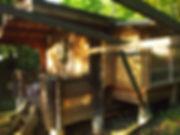 草の庭 下宿小屋
