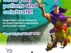 Audie Awards! Best Original Work Nomination!