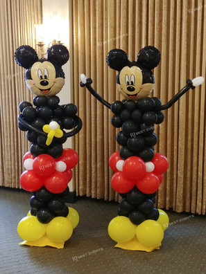 Disney themed balloon columns  #bridalbouquet #bridesmaidbouquet #Babyshower #balloondecorator #balloons #weddingbackdrop #weddingdecorator #eventdecorator #weddingplanner #partyplanner #weddingdj #lighting #eventplanner #uniquedecoration #trendydecoration #balloonarch #ballooncolumns #disney