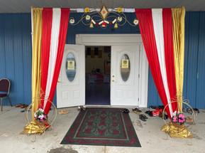 Entrance gate