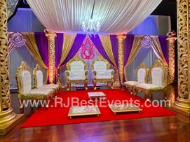 Royal Throne Chair Set