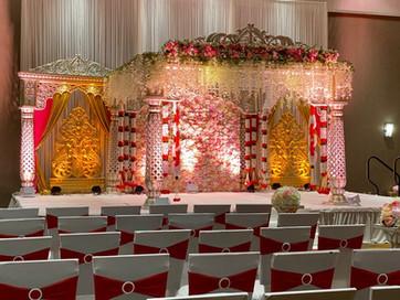 Wedding Mandap with Wisteria Flowers.jpeg