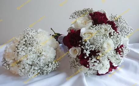 Bridal and Bridesmaid Bouquet