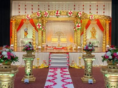 Royal Golden Mandap