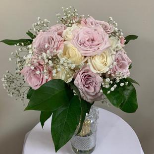 Fresh Floral Bridal Bouquet