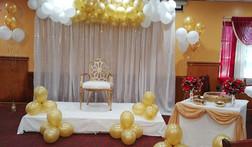 Balloon backdrop  #bridalbouquet #bridesmaidbouquet #Babyshower #balloondecorator #balloons #weddingbackdrop #weddingdecorator #eventdecorator #weddingplanner #partyplanner #weddingdj #lighting #eventplanner #uniquedecoration #trendydecoration #balloonarch