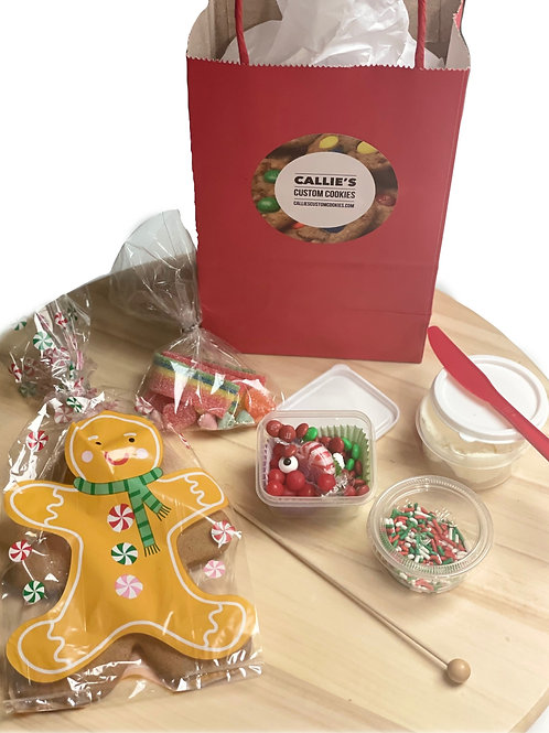 Gingerbread Man Cookie Kit