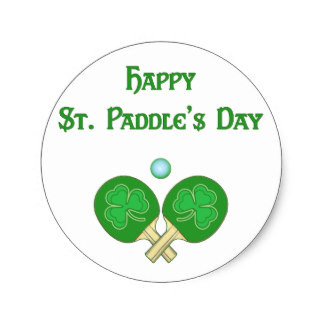 Happy St Paddles Day!!