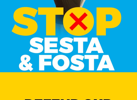 "FOSTA-SESTA & ""On the road again..."""