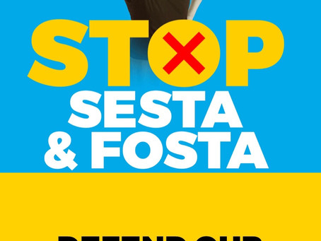 "FOSTA-SESTA & ""On the road again..."""