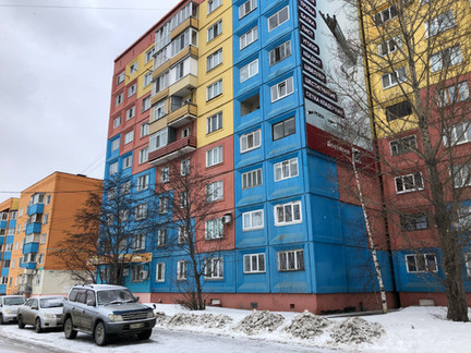 Проверка временем дома в г. Южно-Сахалинск. Прошло 14 лет...