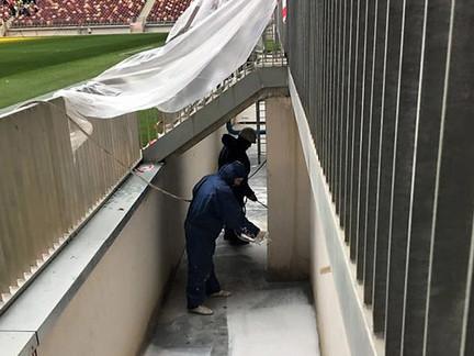TSMGROUP защитит от разрушения рвы безопасности на стадионе «Лужники»