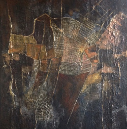 Final Approach, 20 x 20, Acrylic on Canvas