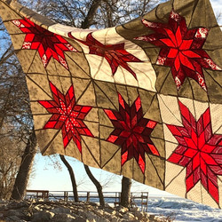 Quarantine provided time to make some cottage quilts.
