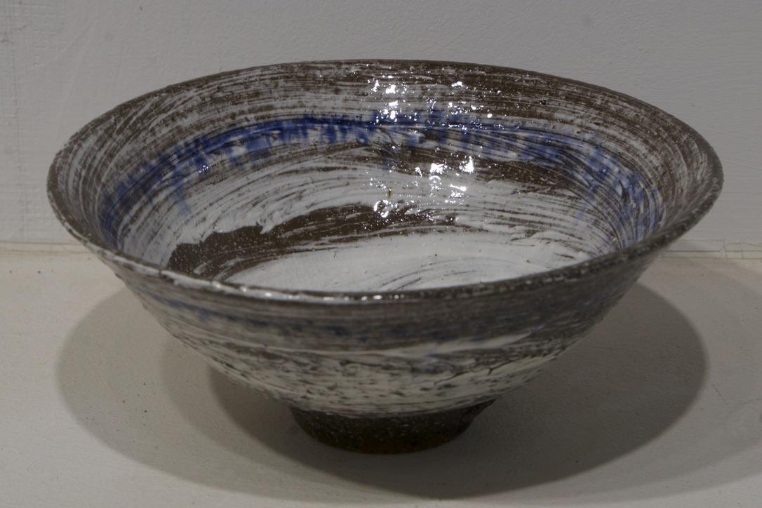 High-Temp Raku Bowl