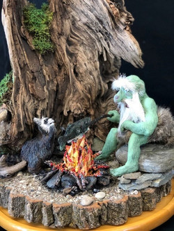 Campfire Troll