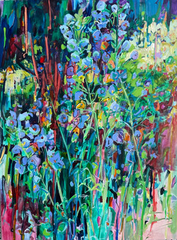Commission work has been blooming in Amanda's new studio.