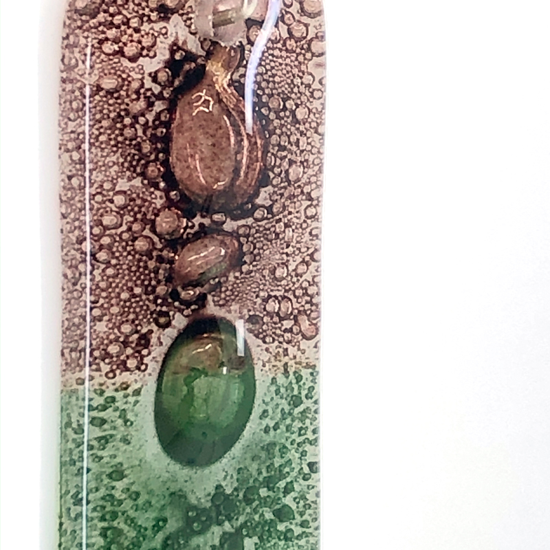 Rosewood Moss Pendant Close Up