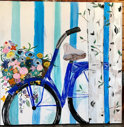 Flowers by the Basket