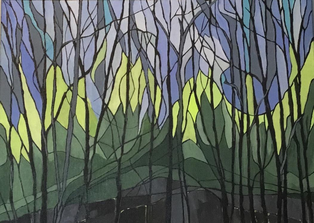 Fractured Landscape 2