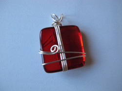 Wired Wrapped Pendant