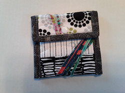 Quilted Fabric Card Holder
