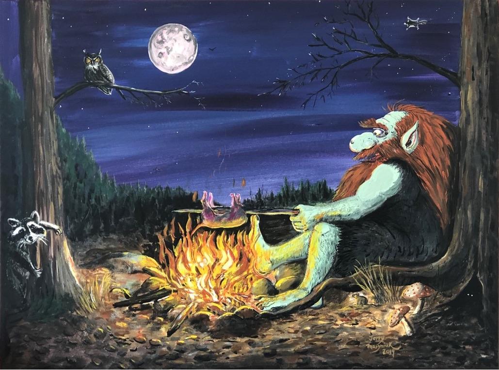 Eldur the Fire Troll