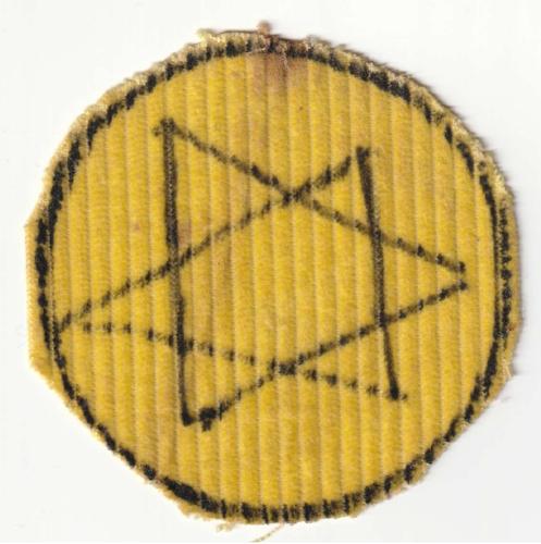 Joseph's Handmade Star of David from the Riga Ghetto