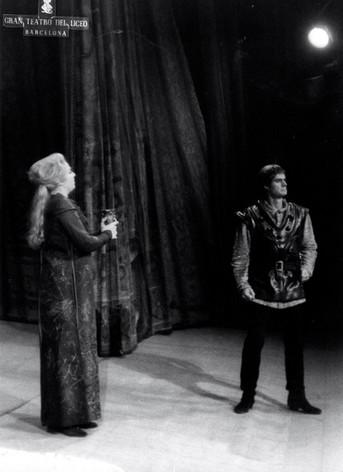 Ingrid Bjoner as Isolde, Claude Heater as Tristan.