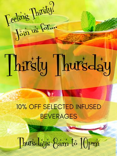 Thirsty Thursdays!