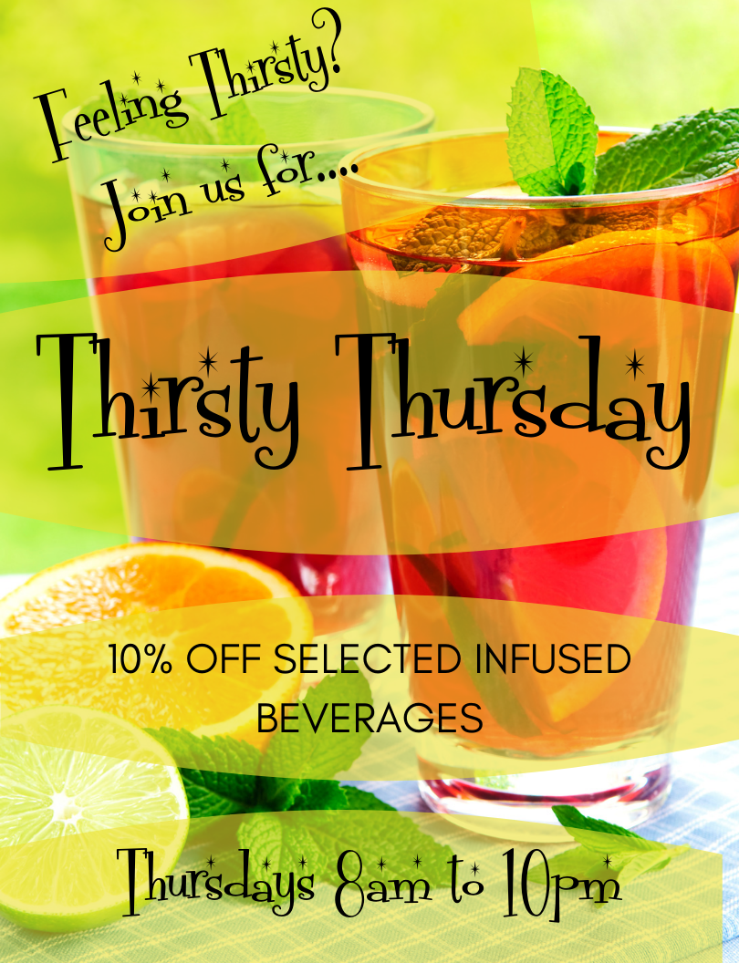 Thirsty Thursdays!