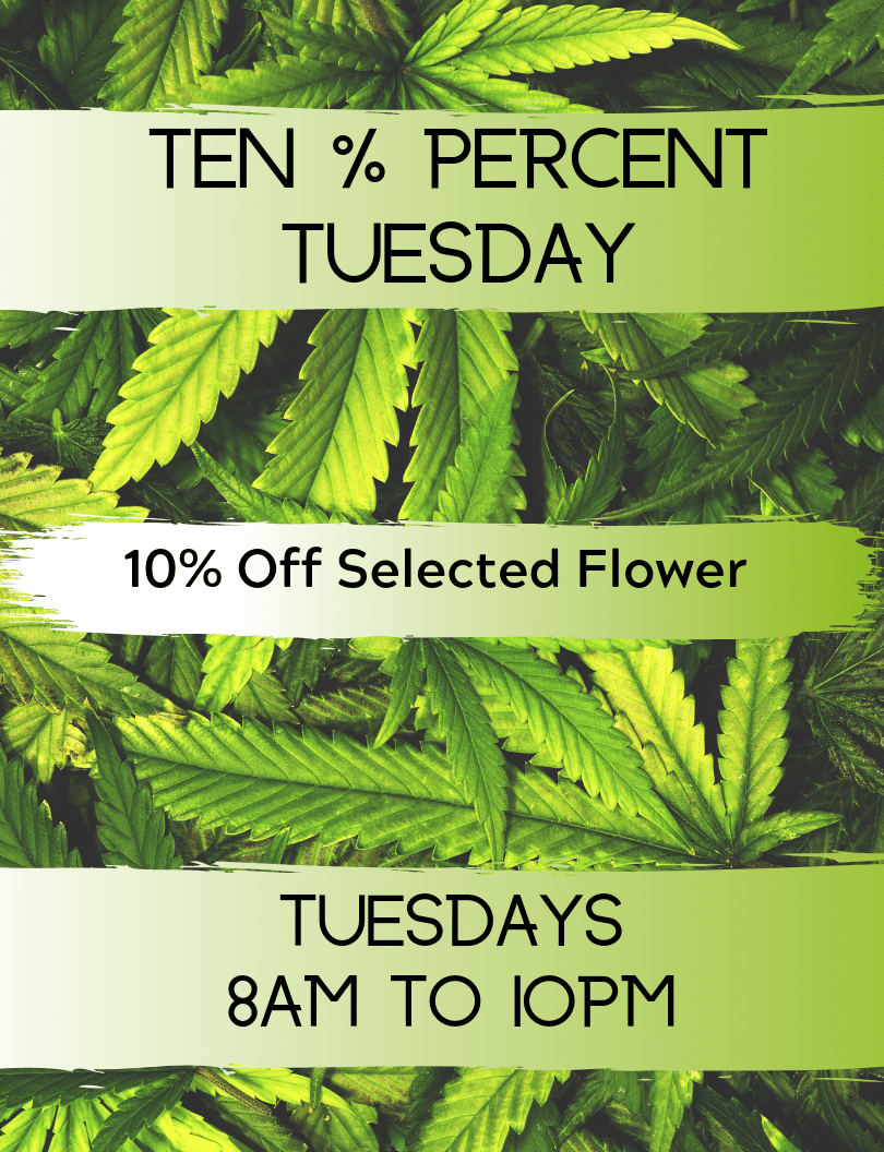 Ten % Tuesdays